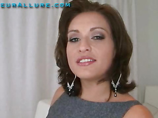 Makalie has a recent company and is looking for a very special recent employee to demo her product in womens homes. Ball Batter Facial Solutions sends out studs to acquire blowjobs and dump large loads of cum on womens faces then feed 'em the cum. My fantasy jo