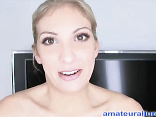 Gorgeous brunette hair beauty, Zoe Voss, sucks dick then gets bent over and banged into ecstacy during the time that her constricted juicy crack gets very soaked. Then that babe drops to her knees and swallows a big mouthful of dude gravy.