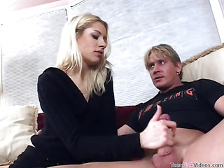 Beauty is fond of getting her vagina stuffed by rock-hard dick