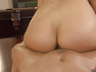 `Brianna Love has a petite body and a bubble butt that just screams Fuck me!`  After oiling up her cheeks, Mick fingers her arse and loosens up that sphincter for his large pecker.  Watch the pleasure and ache on Brianna's pretty face as her booty gets filled with pleasure.``