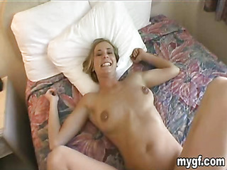 Two absolutely perfect sluts share one hard lucky dick