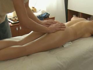 Glamorous masseur is plowing adorable hottie's cookie wildly