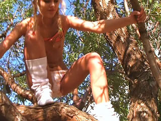 Sexy dilettante angel gettin nailed outdoors by dirty street fucker