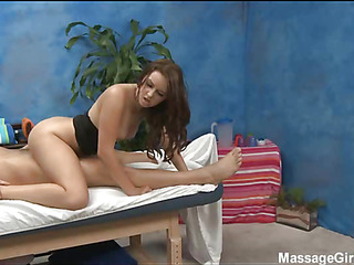 Hot eighteen year old honey acquires fucked hard by her massage therapist