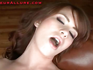Miley is an 18 year old red haired beauty that is super cute. This Babe has fair skin, merry little marangos and a perfect little wazoo. Ray introduces her to his dick and that babe does a excellent engulf job on him in advance of that guy bangs h