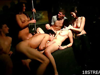 This ravishing group sex action will make your mouth water