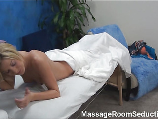Blonde cutie asks the pal that is massaging her precious body if this guy is not against of stuffing enchanting twat by his dick. Answer of dude can't be negative. This Fellow becomes bare and begins drilling the beauty hard.