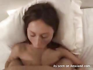Woman gets fur pie stuffed by weenie after giving fine oral pleasure