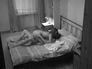 Livecam lens captures a hawt sex in the bedroom with a naughty lady