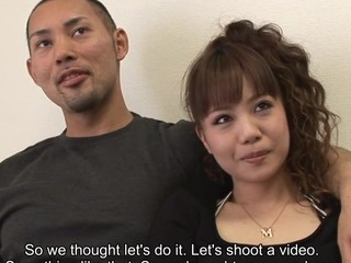 Porn star Sakura and her paramour are making arrangements with a camera crew. Sakura needs to get screwed and cookie suckles while her paramour watches. After giggling they acquiesce and the joy starts. The Japanese hottie gets laid and her paramour is violent.