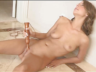 One of most marvelous chicks online plays with her sex toys
