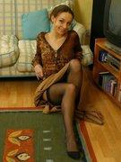 `Carla in brown top