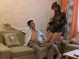 Beautiful blonde babe takes an ass ride on his hard cock