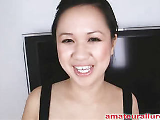 Carmina is a gorgeous twenty year old Oriental student, with a cute little body and an extraordinary craving for pecker. It appears that Carmina has sucked off about 50 guys! That's a large number for somebody still in college. That Hottie is too blessed with