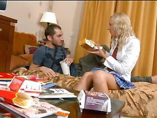 Neat marvelous hot hotty sighs on getting fucked sideways
