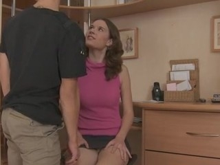 This cute brunette hair secretary was always turning me on. When that babe finally accepted my advanced I got one of the almost all good wet fur pie fuck actions ever.