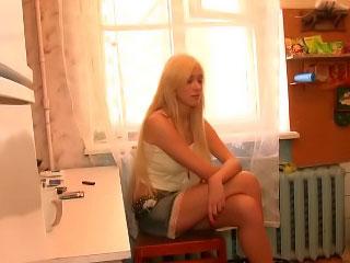 Gorgeous hawt blonde hawt teen getting gaped hard by big wang