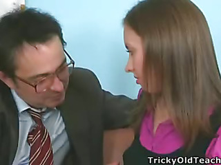 It's time to study, so Tania took off her pants and showed the teacher her wet and insatiable cunt willing for hardcore fucking.